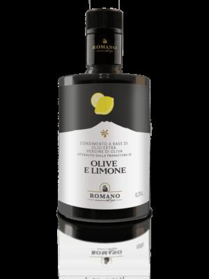 Eine Flasche Condimento Olio e Limone