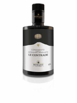 Eine Flasche Le Contrade Lebensmittelwürze