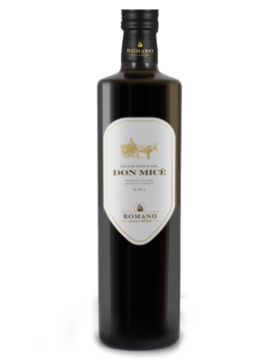 Eine Flasche Olivenöl Don Micè