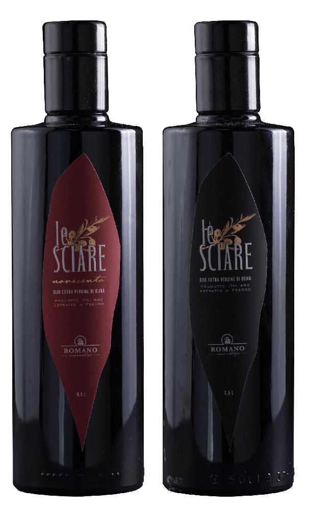 """Zwei Flaschen Olivenöl """"Le Sciare"""""""