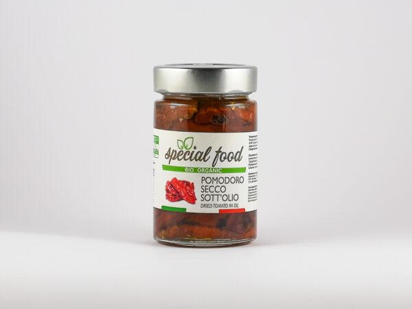 Getrocknete Tomaten in Öl
